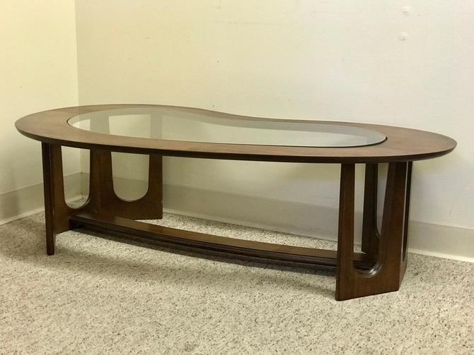 Vintage MCM Modern Table by BigWhaleConsignment