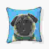 Pooch Décor: Pug Puppy Pillow