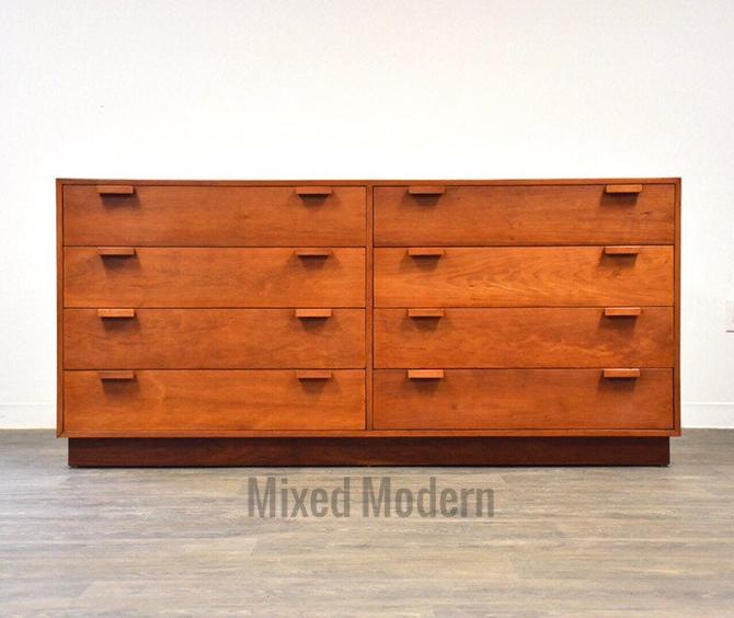 Charles Webb Cherry Modern Dresser by mixedmodern1