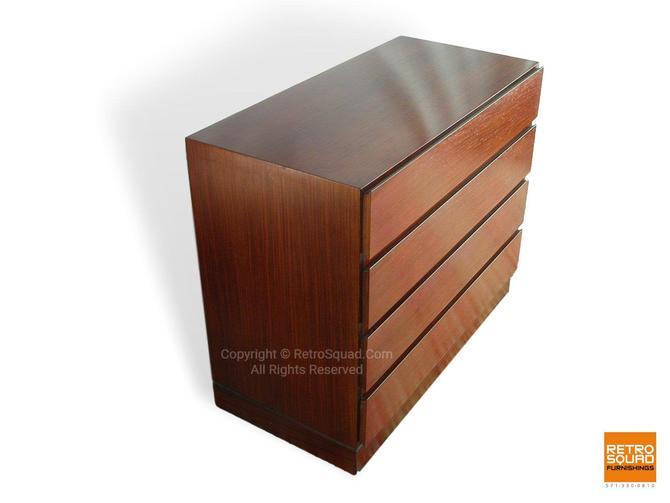 "Danish Modern Short 36"" Rosewood Dresser By Arne Wahl Iversen for Vinde / Nightstands Storage Chest MCM Mid Century Eames by RetroSquad"