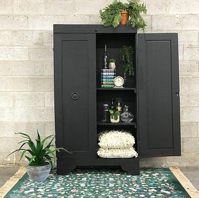 LOCAL PICKUP ONLY ----------------- Vintage Wood Cabinet by RetrospectVintage215