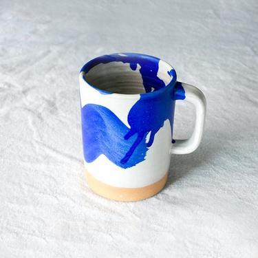Royal Splash Cappuccino Mug