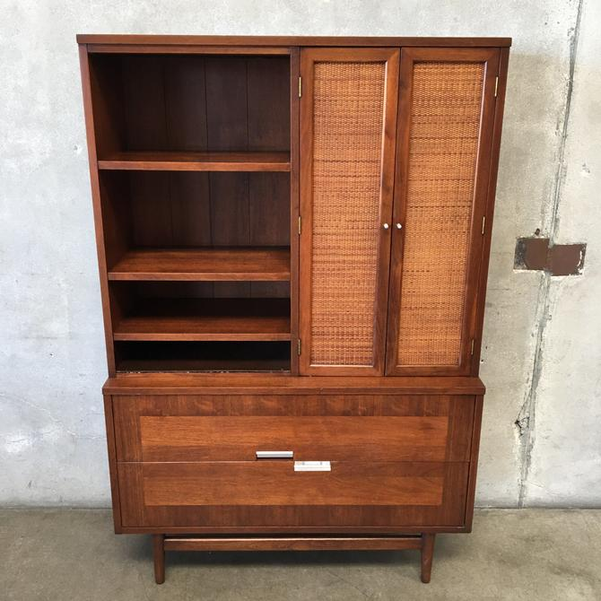 Mid Century American of Martinsville Accord Cane Series Hutch