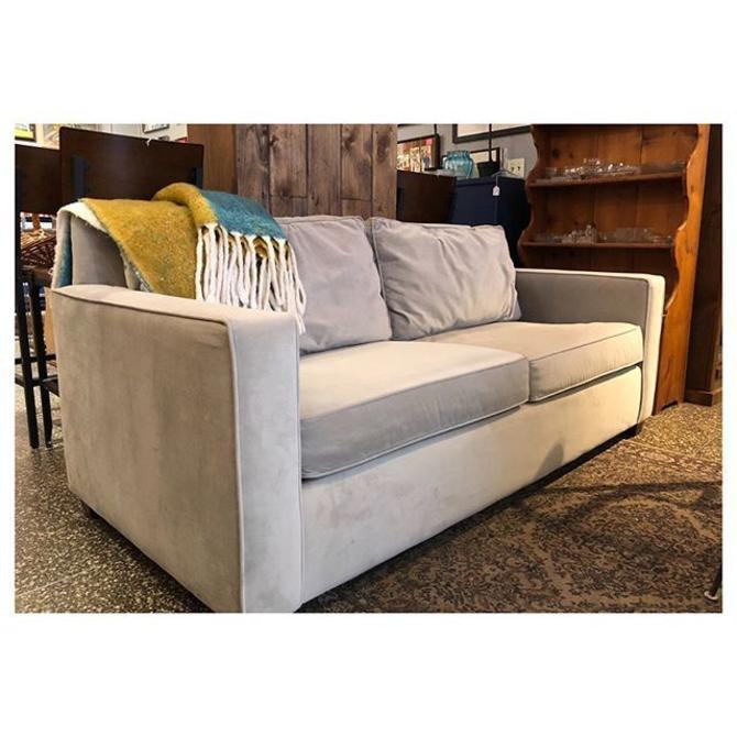 """grey sofa 76"""" L x 36"""" D x 33.5 H"""