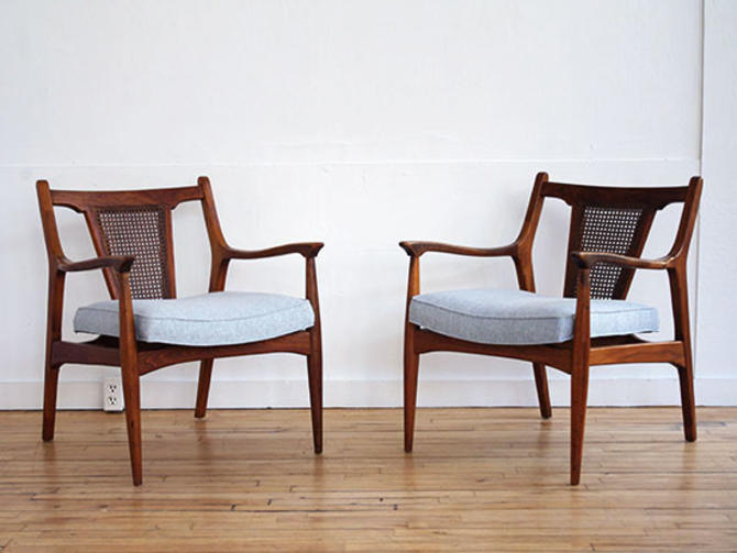 Pair Jack Cartwright Arm Chairs