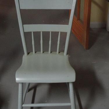 Cool blue chair.  Enough said.