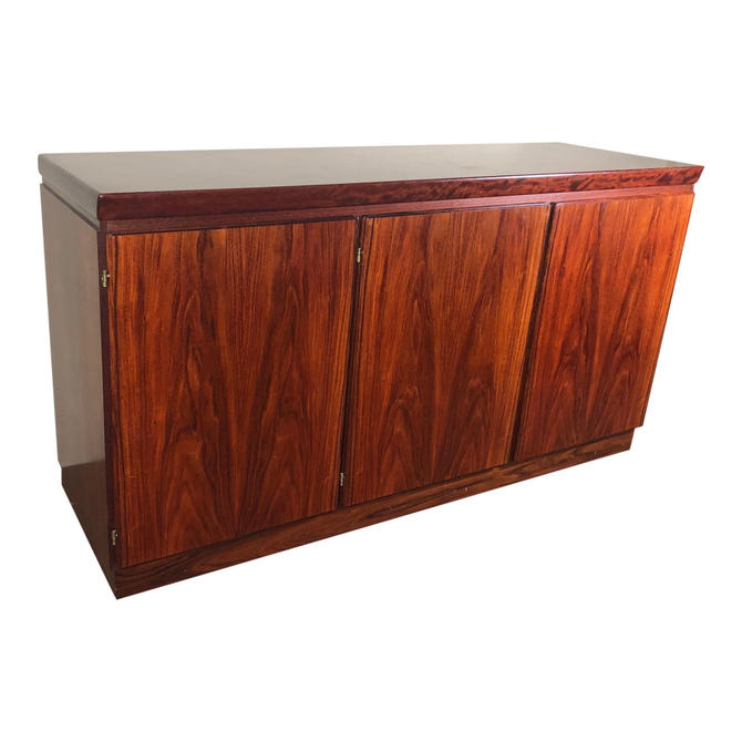 Danish Rosewood Buffet Credenza Cabinet by Skovby by RetroPassion21