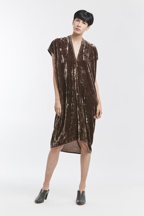Petite Everyday Dress, Velvet in Abiquiu FINAL SALE