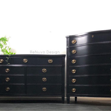 SOLD!    Dresser and Chest Of Drawers by ReNuvoDesign