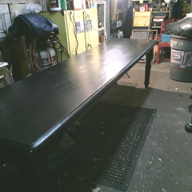 Ten Foot Long Farm Style Table