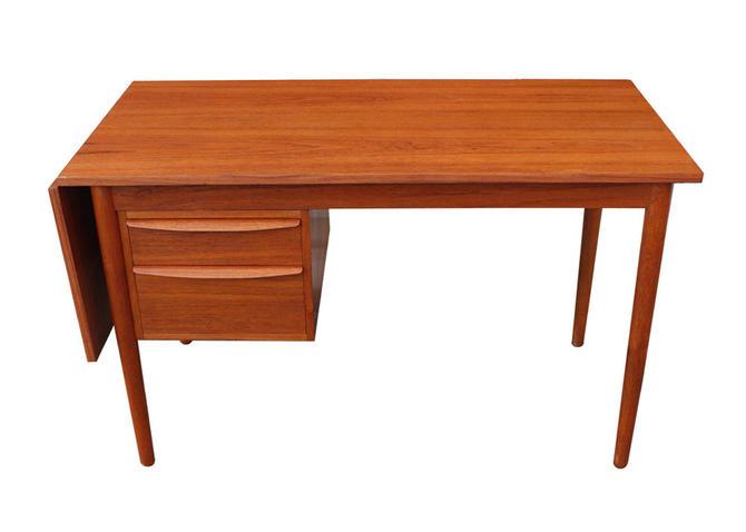 #556: Mid Century Teak Desk