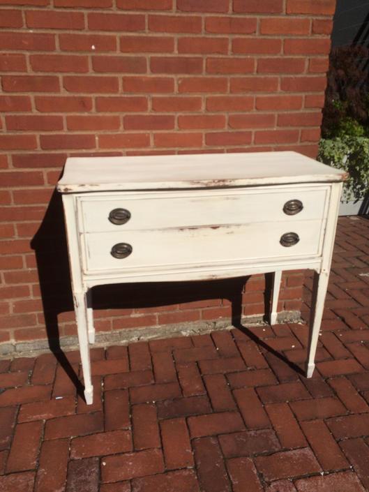 Elegant, compact, vintage refinished dresser. by SouliDesign