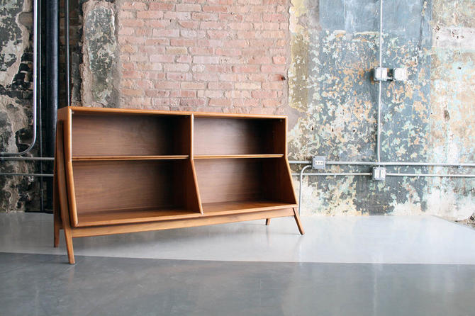 Walnut Bookcase by Kipp Stewart for Drexel 'Declaration'