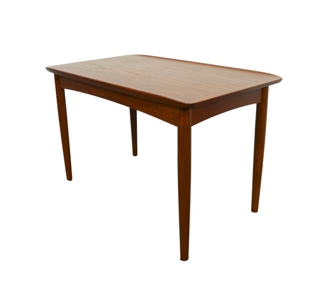Teak Side Table Mobelintarsia Cocktail Table Coffee Table Danish Modern by HearthsideHome