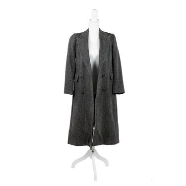Harris Tweed Scottish Hand-Woven Wool Women's Coat by BluffStProps