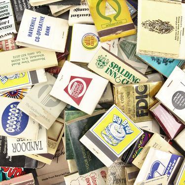 Assorted Vintage Matchbooks by MemoryHoleVintage