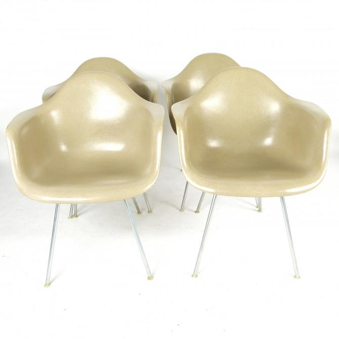 Eames DAX Chairs by Herman Miller