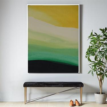 """36"""" x 48"""" Large Canvas Painting Abstract Minimalist Modern Home Decor Original Design Contemporary Artwork by ArtbyDinaD by ArtbyDinaD"""