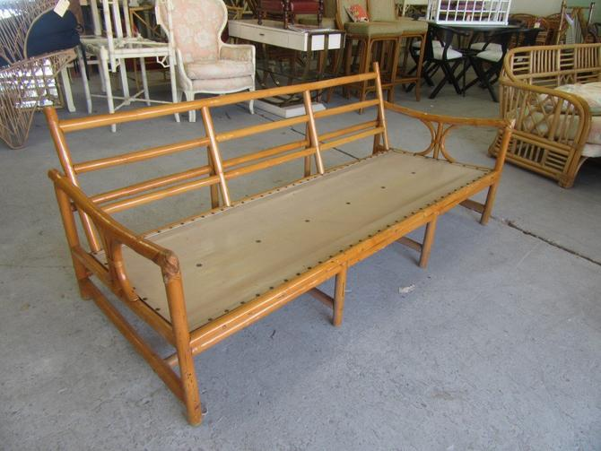 1950's Bamboo Low Profile Sofa Frams