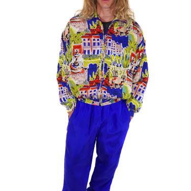 Costa Azul Silk Leisure Suit