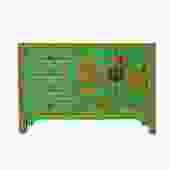 Distressed Green Golden Scenery Butterflies Drawers Storage Cabinet cs5405S