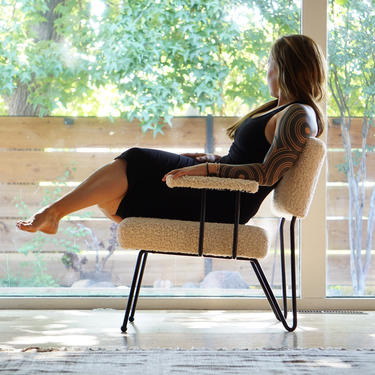 Made to Order Modernist Lounge Chairs by FandFVintage