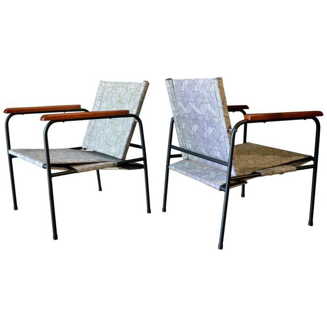 Pair of Vintage Patio Chairs, circa 1970