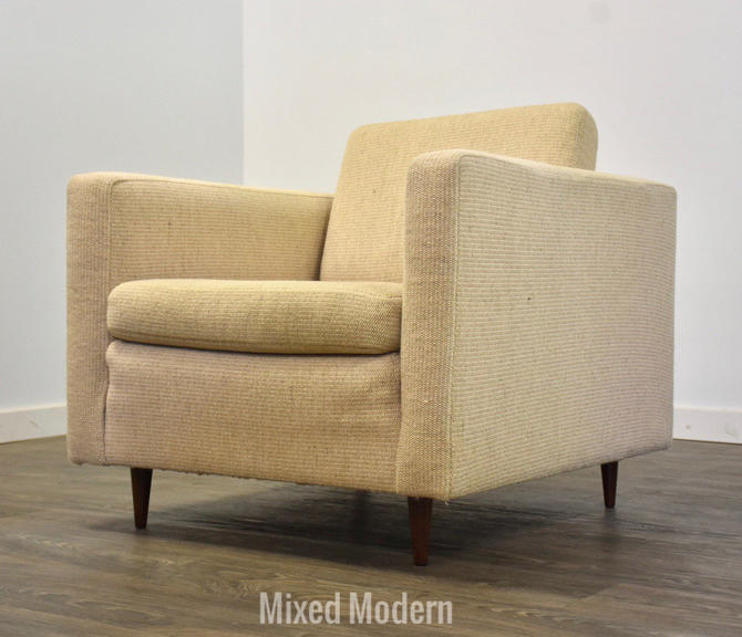 Wool Cube Lounge Chair by mixedmodern1