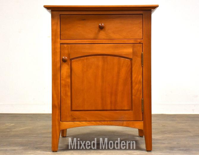 Solid Cherry Nightstand by Cherry Pond Designs by mixedmodern1