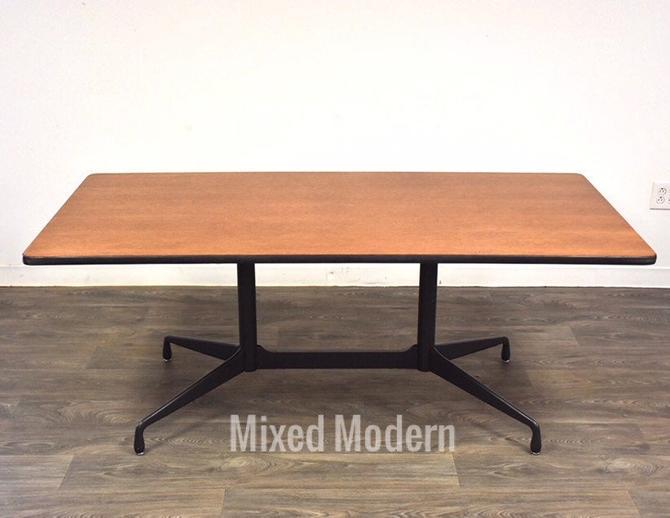 Eames for Herman Miller Oak Dining Table by mixedmodern1
