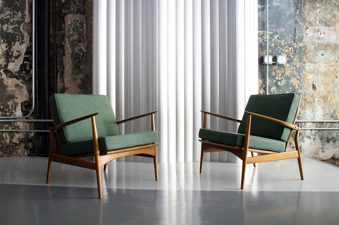 Pair of 'Spear' Chairs by Kofod Larsen