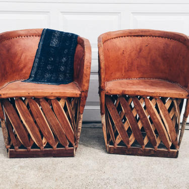 Vintage Equipales Chair