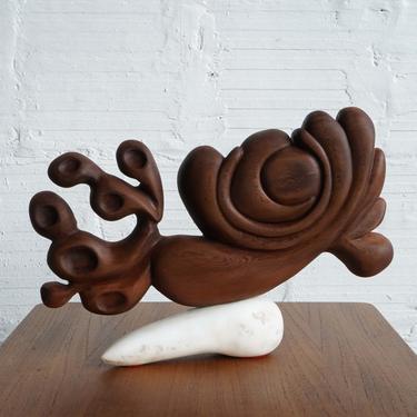 """""""Fish"""" - Sculpture by Chris Belluschi"""