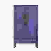 Chinese Distressed Purple Tall Wedding Armoire Wardrobe TV Cabinet cs5387S