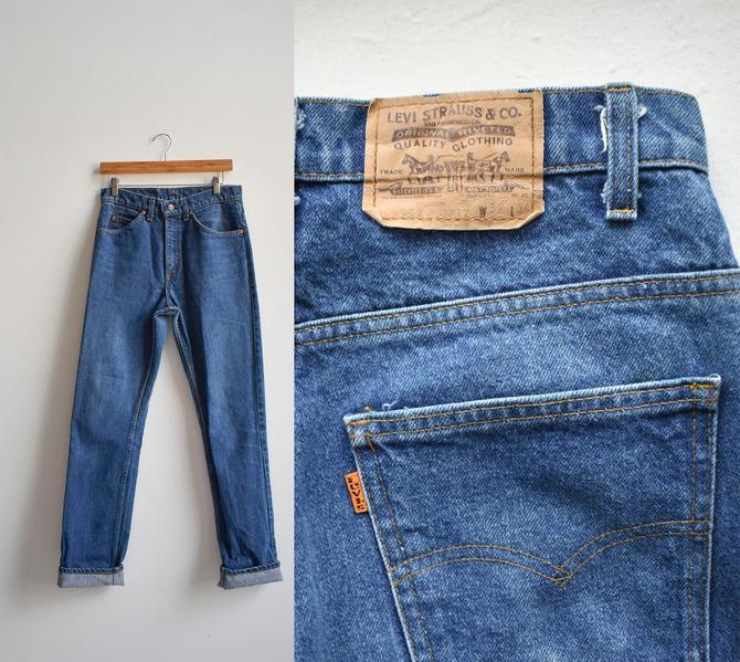 Vintage Blue Levis Jeans 32x34 by milkandice