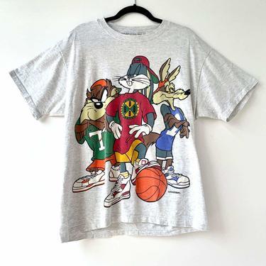 Vintage Looney Toons Basketball Tee