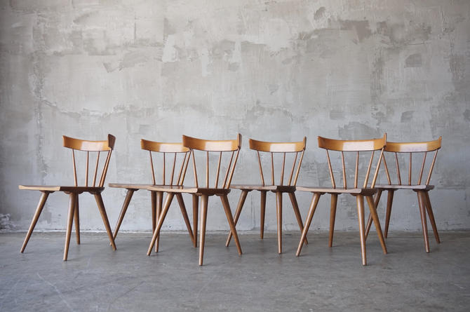 Set of 6 Paul McCobb Dining Chairs by FandFVintage
