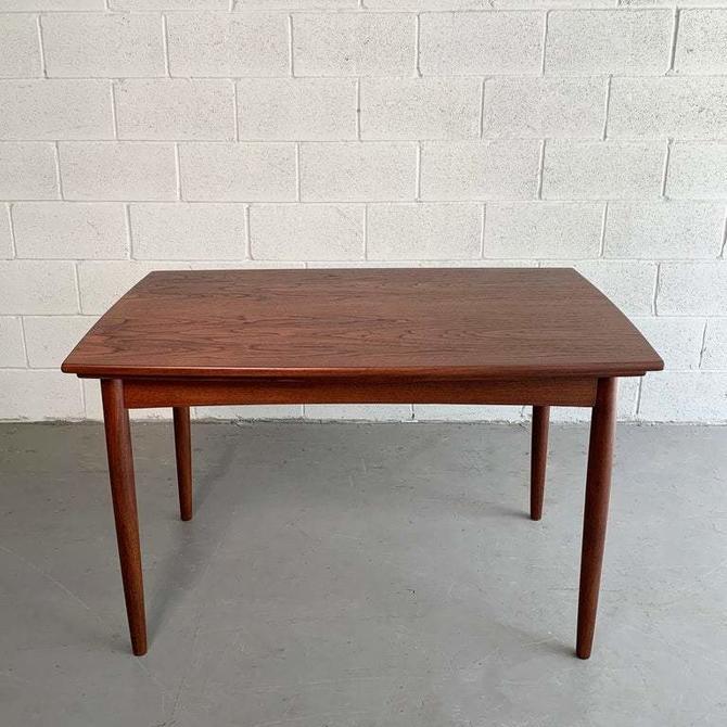 Danish Modern Teak Extension Dining Table
