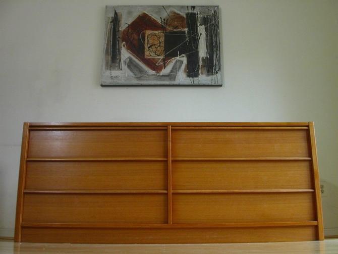 Danish Modern Teak 6 Drawer Bedroom Dresser By Jesper / Credenza Storage Chest