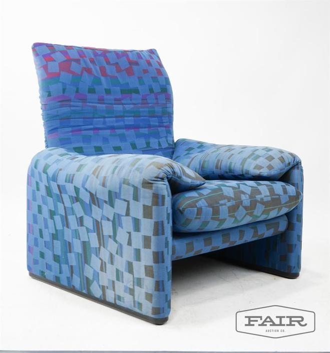 Magistretti for Cassina: Maralunga Lounge Chair