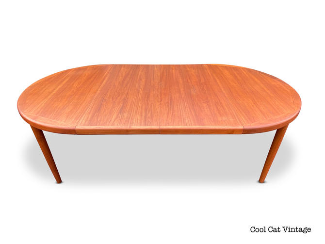 Danish Teak Extending Dining Table by Vejle Stole Mobelfabrik, Circa 1960s - *Please see notes on shipping before you purchase. by CoolCatVintagePA
