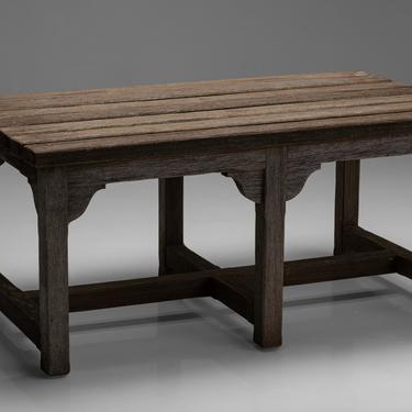 Teak Garden Table / Bench