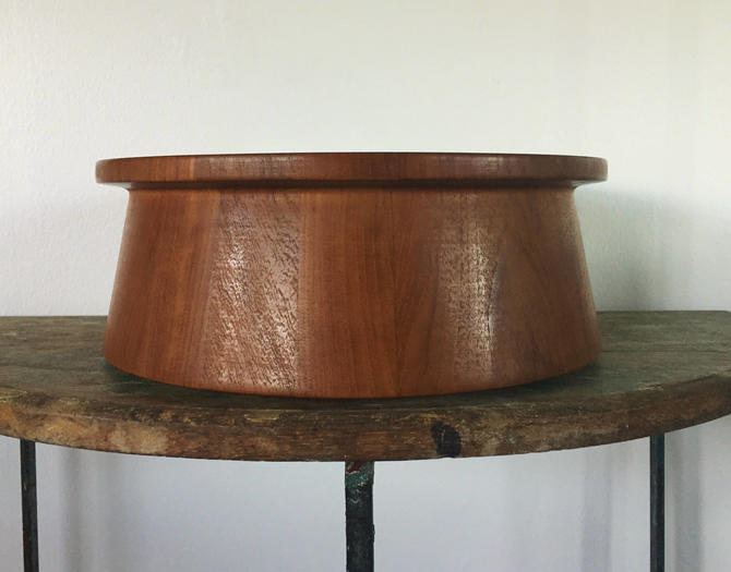 Vintage Dansk Teak Salad Bowl Designed by Jens Quistgaard by ModandOzzie