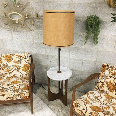 LOCAL PICKUP ONLY --------------- Vintage End Table Lamp by RetrospectVintage215