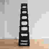 Chinese Black Lacquer Stacking Stands