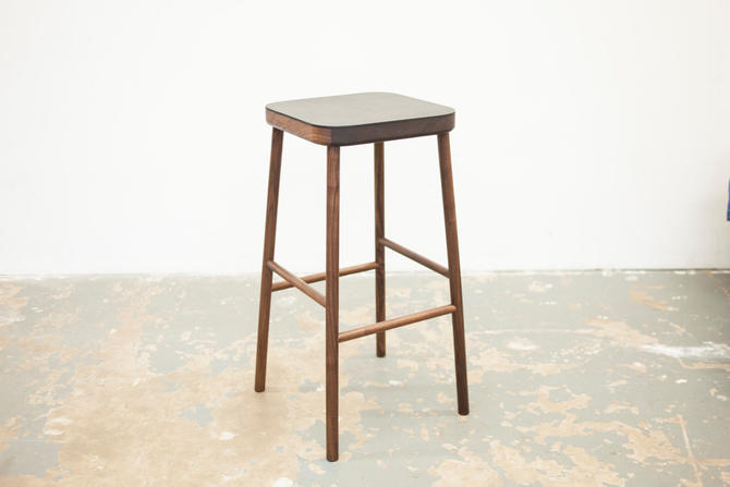 Free Shipping - Bar stool - White Oak or Walnut - Counter Height by dylangrey