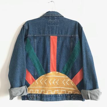 Setting Sun Mud Cloth Jacket