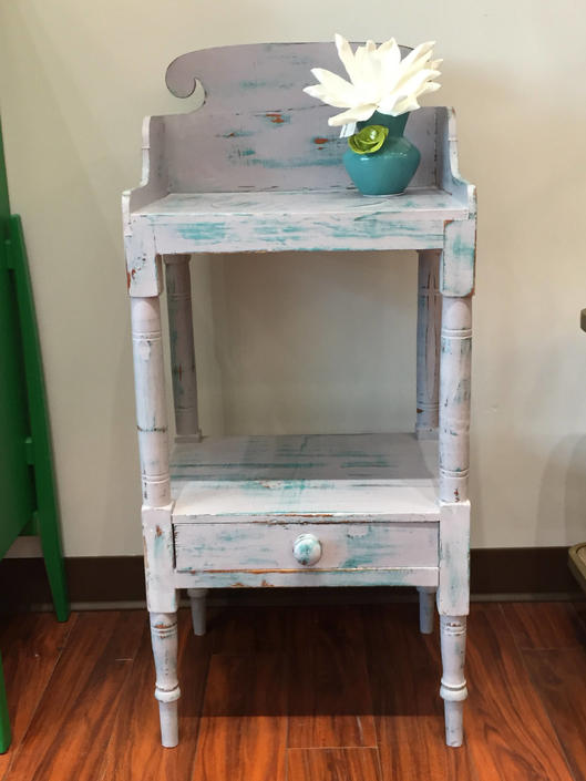 Eloise- Turned Leg  Basin Stand by StylishPatina