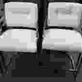MN1 (Pair) Vintage Chrome Chairs