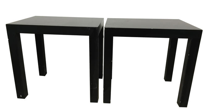 Parsons Style End Table